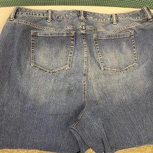 Torrid Distressed Ankle Jeans